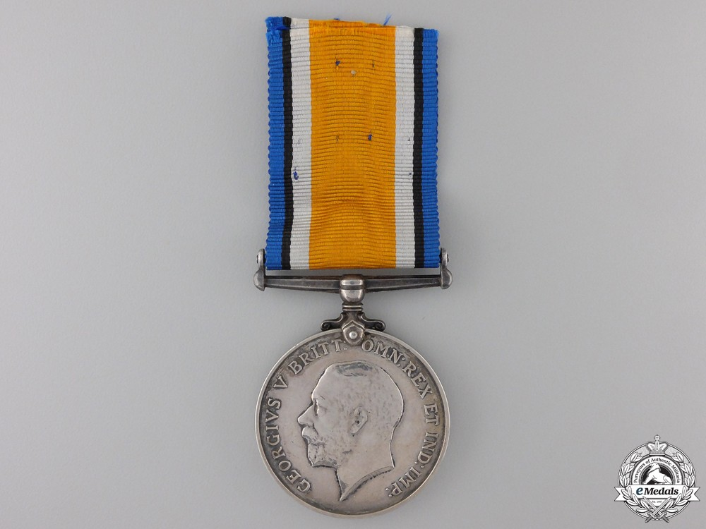 A British War Medal to the Royal Highlanders of Canada