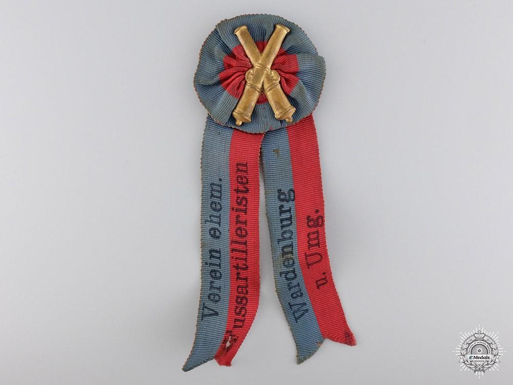 An Oldenburg Wardenburg Foot Artillery Veteran's Badge