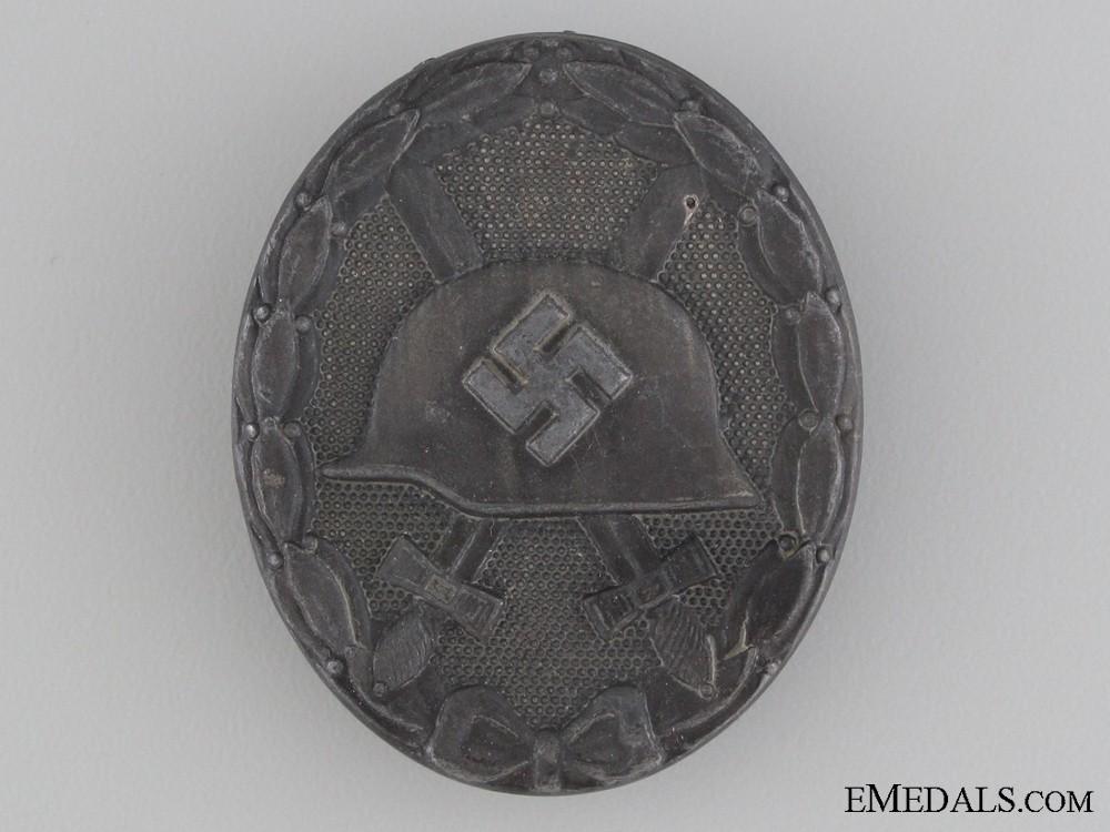 Wound Badge; Silver Grade by Steinhauer & Lück
