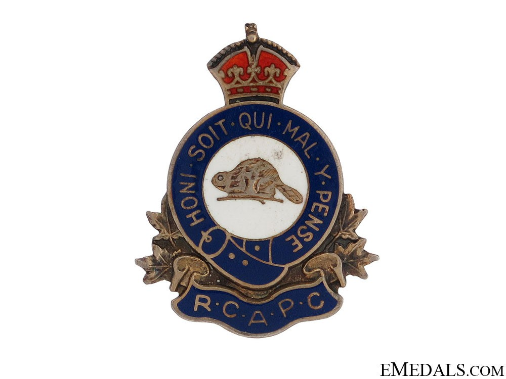WWII Royal Canadian Army Pay Corps Pin by Birks