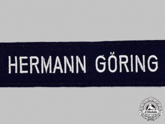 Germany, Luftwaffe. A Mint and Unissued 1st Fallschirm-Panzer Division Hermann Göring EM/NCO's Cuff Title