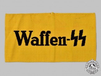 Germany, SS. A Waffen-SS Auxiliary Personnel Armband