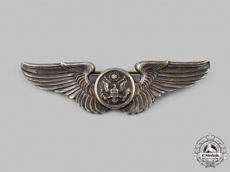 United States. A United States Army Air Force Aircrew Badge, c.1944
