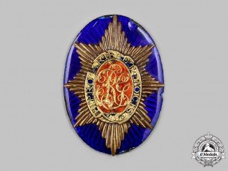 United Kingdom. An Early 19th Century Officer's Cross Belt Plate Centre