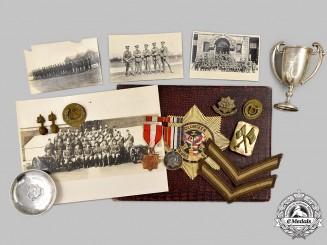 "China, Republic. A Superb Shanghai Volunteer Collection to Lance Corporal J. Rogalski of ""C"" Machine Gun Company"