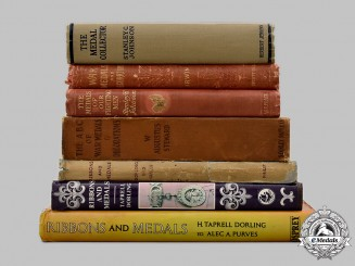 United Kingdom. Seven Medals and Ribbons Reference Books