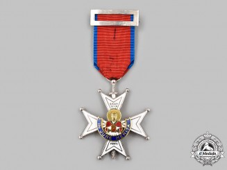 Spain, Fascist State. An Order Of The Cross Of St. Raymond Of Penafort, Knight