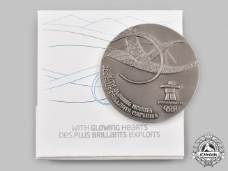 Canada, Commonwealth. A Vancouver 2010 Winter Olympic Games Participation Medal, Boxed