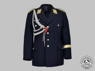Germany, Luftwaffe. A Flight Personnel/Paratrooper Major's Tunic for a Crete Veteran