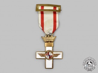 Spain, Fascist State. An Order of Aeronautical Merit with White Distinction, Knight (1945-1975)
