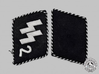 Germany, SS. A Set of SS-Standarte 2/VT Germania Collar Tabs