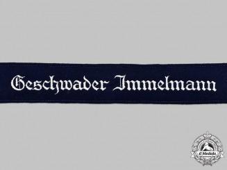 Germany, Luftwaffe. A Mint and Unissued Geschwader Immelmann Cuff Title