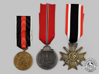 Germany, Wehrmacht. A Mixed Lot of Medals