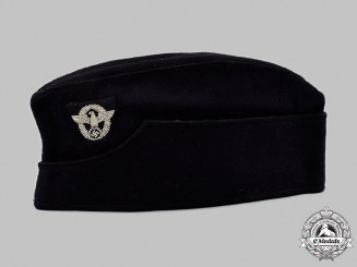 Germany, Feuerschutzpolizei. An EM/NCO's Overseas Cap