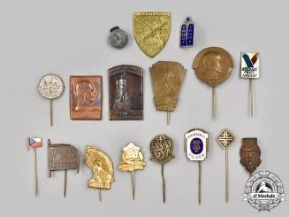 Slovakia, I Republic. A Mixed Lot of Commemorative Pins