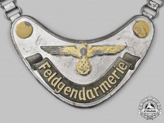 Germany, Wehrmacht. A Feldgendarmerie Gorget