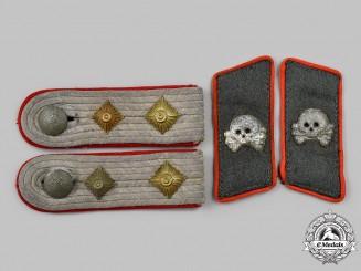 Germany, Heer. A Set of Assault Gun Hauptmann Uniform Insignia