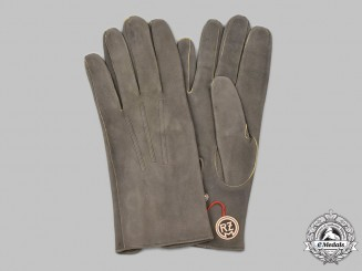 Germany, SS. A Mint Pair of Suede Dress Gloves
