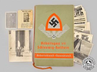 Germany, RAD. A 1938 Reich Labour Service Mediterranean Tour Photo Album