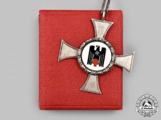 Germany, DRK. A Nurse's Cross, IV Class, with Case