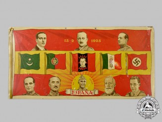 Spain, Spanish State. A Rare Falange Movement Patriotic Sign, by Gallardo y Nuñez