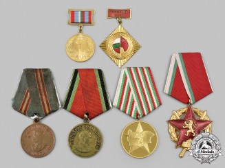 Russia, Soviet Union; Bulgaria, People's Republic. A Mixed Lot of Decorations