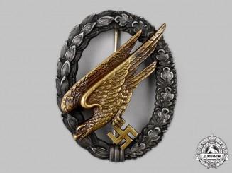 Germany, Luftwaffe. A Fallschirmjäger Badge, by Gebrüder Wegerhoff