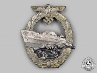 Germany, Kriegsmarine. An E-Boat War Badge, Type II, by Schwerin