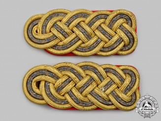 Bavaria, Kingdom. A Rare Set of Generalmajor Shoulder Boards