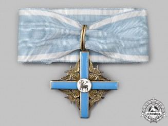 Finland, Republic. An Order Of The Holy Lamb, Commander I Class