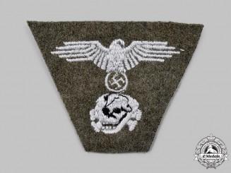 Germany, SS. A Waffen-SS EM/NCO's Dachau-Style M43 Cap Insignia