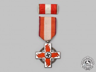 Germany, Third Reich. A Fire Brigade Honor Badge, II Class, with Clasp