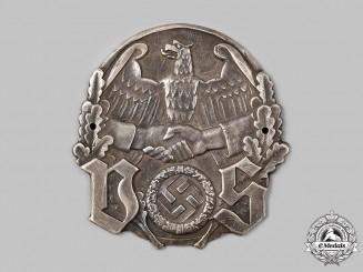 Germany, Third Reich. A Deutscher Siedlerbund Membership Plaque