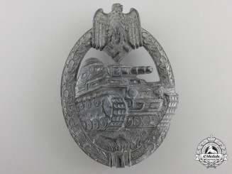 A Tank Assault Badge; Silver Grade