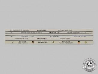 Belgium, Kingdom. Six Second War Piron Brigade (Brigade Piron) Historical Albums