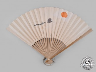 Japan, Imperial. A Japanese Foldable Hand Fan