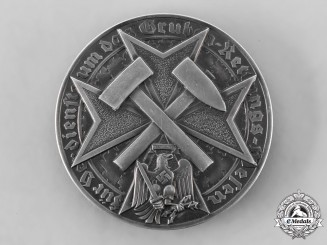 Germany, HJ. A Mine Rescue Merit Badge, by the Prussian State Mint
