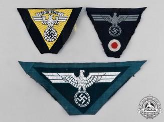 Germany, Third Reich. A Lot of Uniform Eagle Insignia