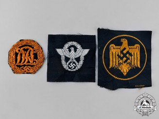 Germany, Third Reich. A Lot of Cloth Badges and Insignia