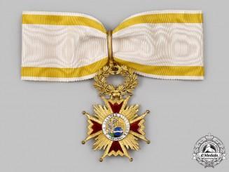 Spain, Kingdom. An Order of Isabella the Catholic, Commander Neck Badge, c.1960