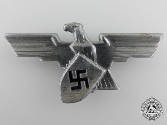 A German Industrial Defence Forces Cap Eagle