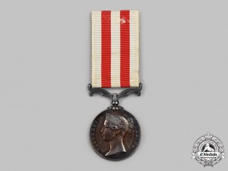 United Kingdom. An India Mutiny Medal 1857-1858, to Lieutenant I.R. Pearson, Dy Cy Ordnance, Bengal Artillery