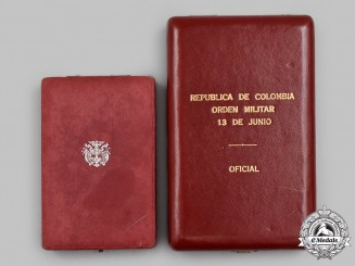 Colombia, Republic. Two Order Cases