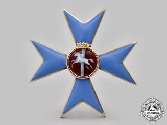 Braunschweig, Duchy. An Order of Henry the Lion, Officer's Cross