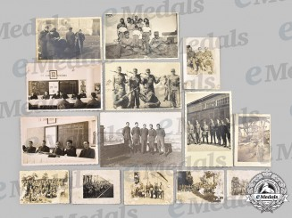 Germany, Wehrmacht. A Mixed Lot of Wartime Croatian Volunteer and Collaborator Photos