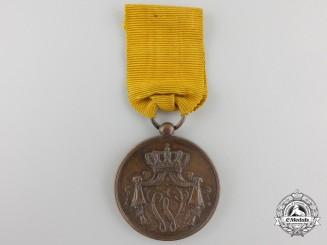 A Royal Dutch Navy Long & Honorable Service Medal