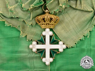 Italy, Kingdom. An Order of St. Maurice and St. Lazarus, I Class Knight Grand Cross in Gold, c.1900