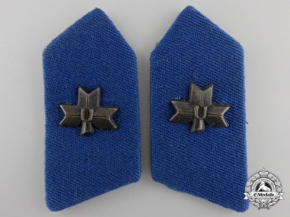 A Set of Second War Ustasha Collar Tabs