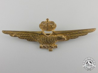 A Second War Italian Pilot's Badge