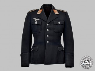 Germany, Luftwaffe. A Signals Personnel Feldwebel's Service Tunic, by M. Drickl